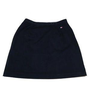 84350a5730d7 Tommy Hilfiger Skirts - 90s Tommy Hilfiger Color Block Logo Flag Skirt